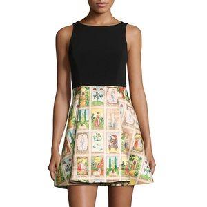 Alice + Olivia Kourtney Tarot Card Dress 4